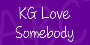 KG Love Somebody illustration 1