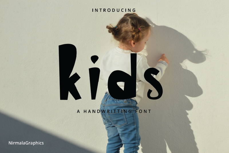 Kids - A Handwritten Fonts illustration 2