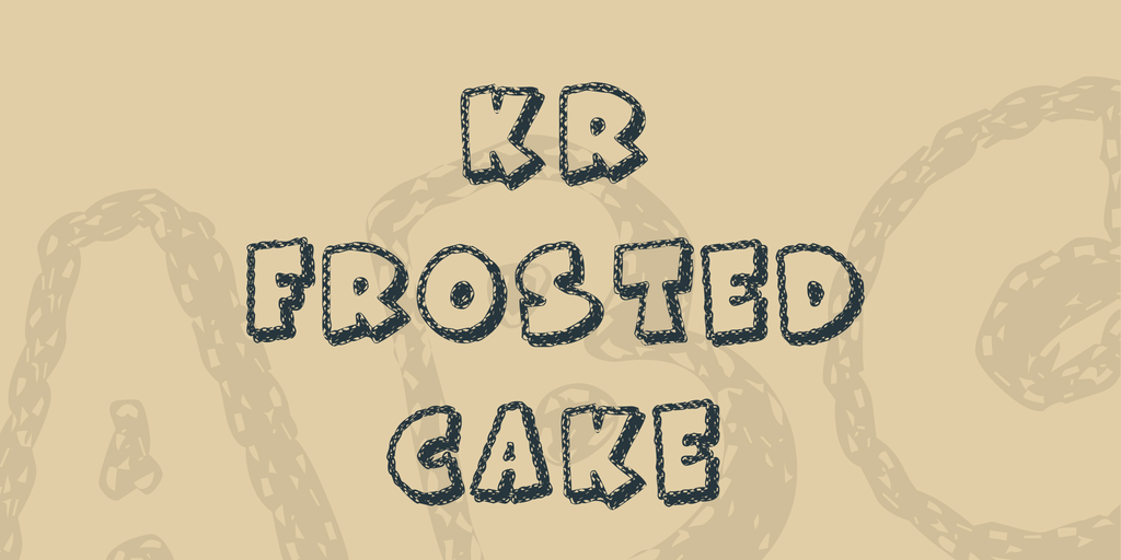 KR Frosted Cake illustration 1