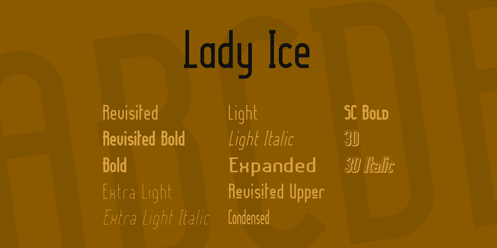Lady Ice illustration 1