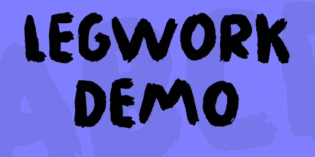 Legwork DEMO illustration 1
