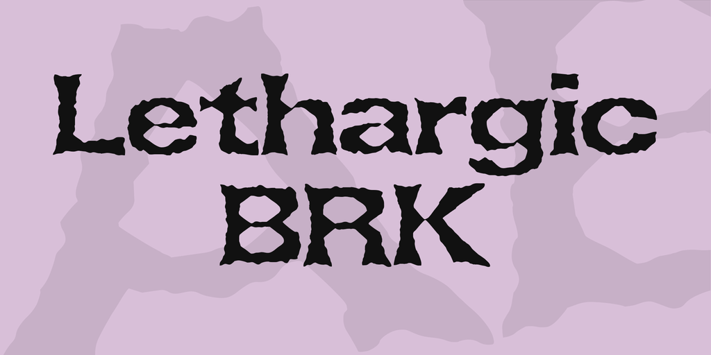 Lethargic BRK illustration 1