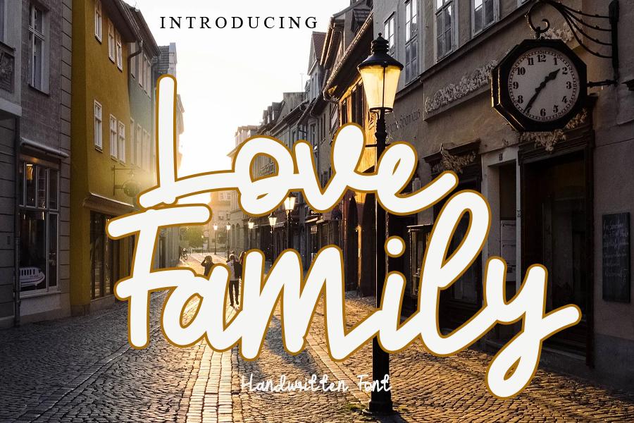Love Family illustration 2