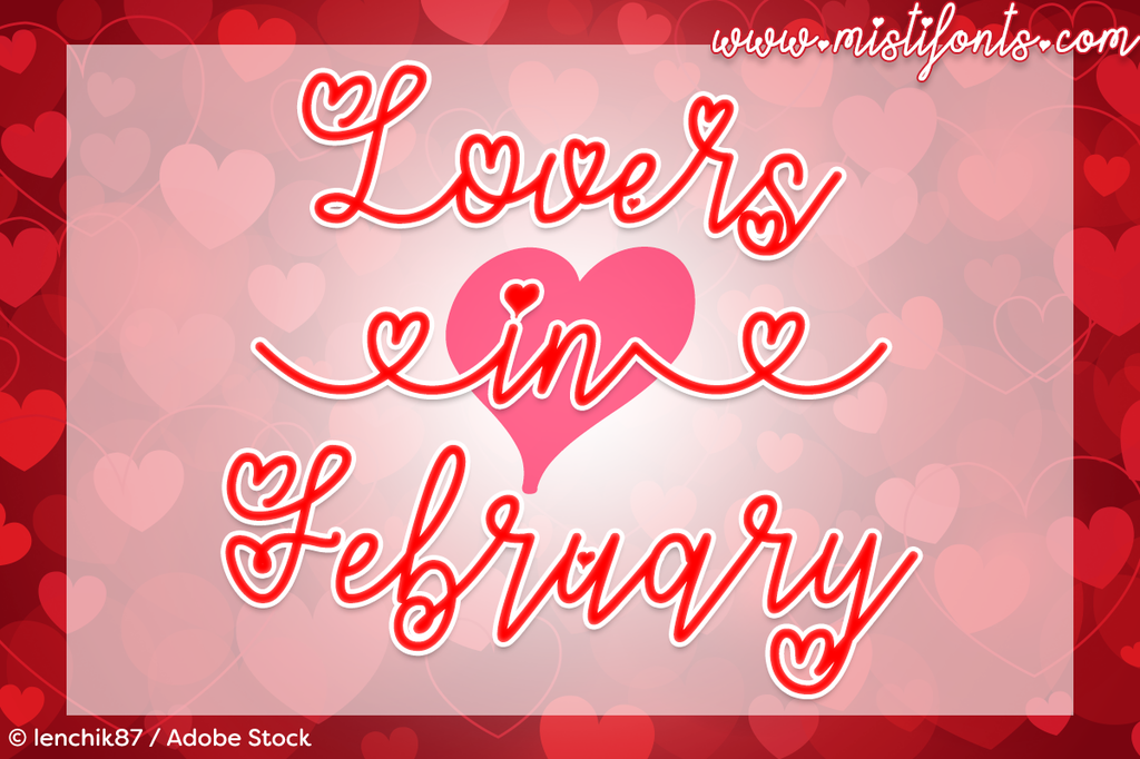 Lovers in February illustration 7