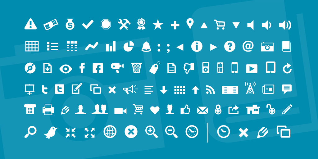 Modern Pictograms illustration 1