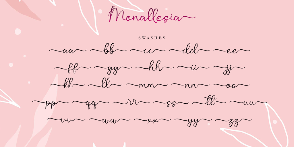 Monallesia Script illustration 4