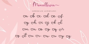 Monallesia Script illustration 5