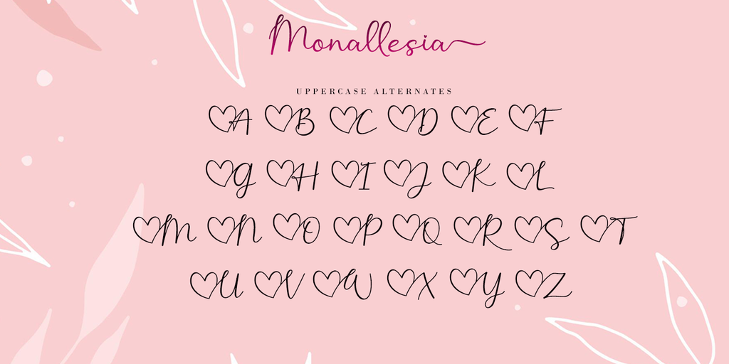 Monallesia Script illustration 6