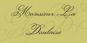 Monsieur La Doulaise illustration 2