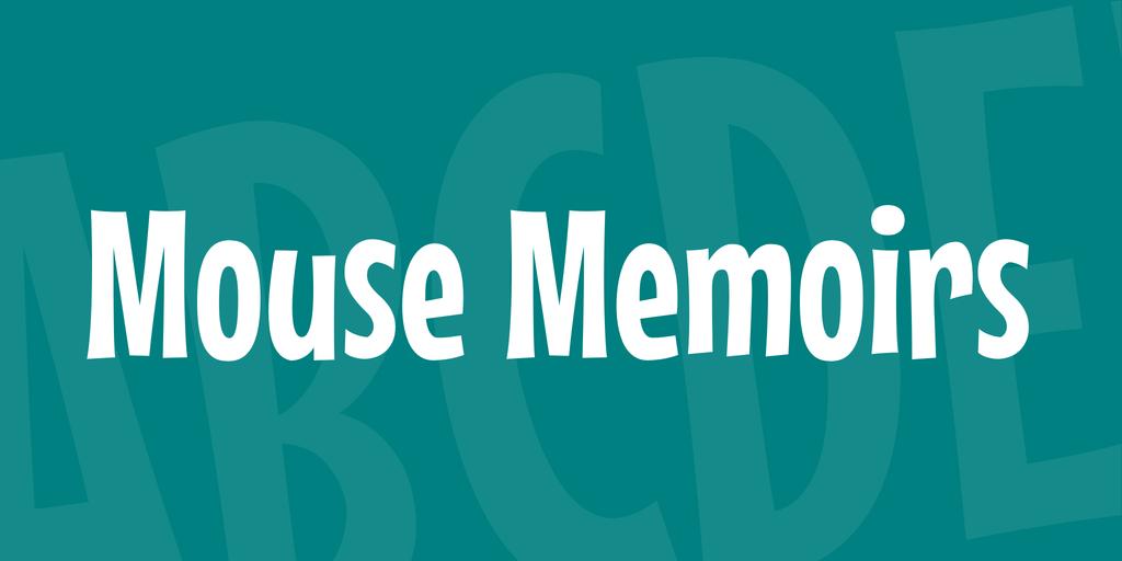 Mouse Memoirs illustration 1