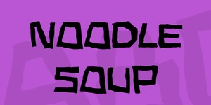 Noodle soup illustration 1