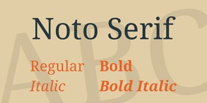 Noto Serif illustration 1