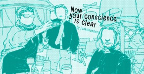 Now your conscience is clear illustration 2