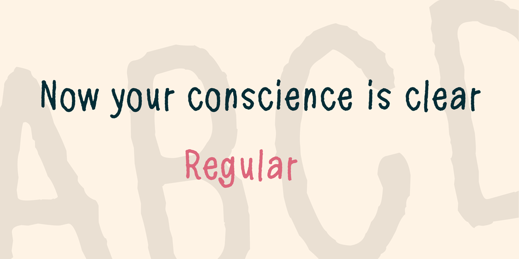 Now your conscience is clear illustration 7