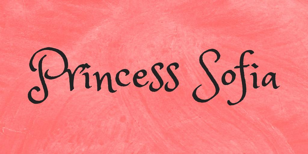 Princess Sofia illustration 2