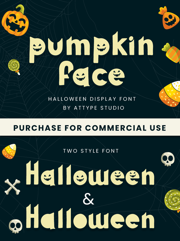Pumpkin Face illustration 1