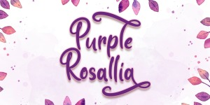 Purple Rosallia - Personal Use illustration 2