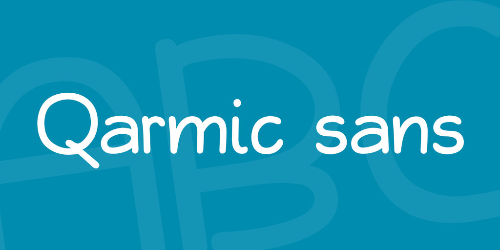 Qarmic sans illustration 1