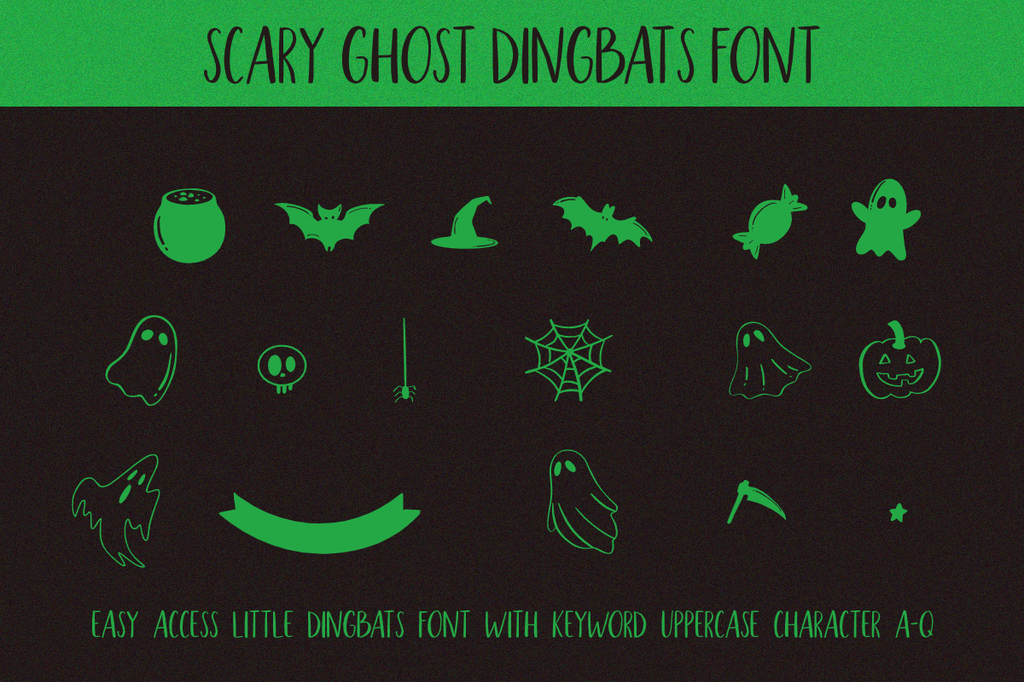 Scary_Ghost_Script illustration 7