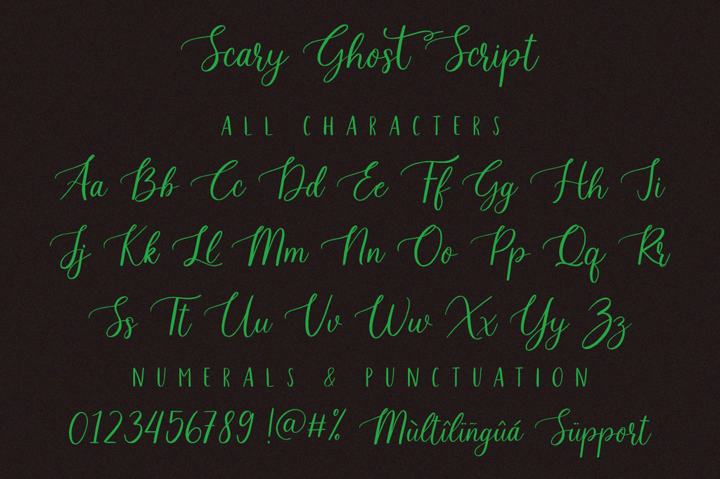 Scary_Ghost_Script illustration 9