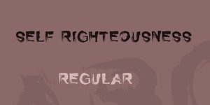 Self Righteousness illustration 1