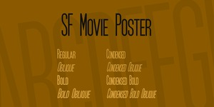 SF Movie Poster illustration 2