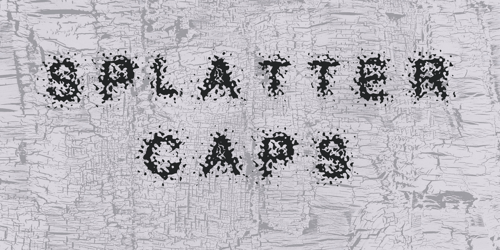 Splatter Caps illustration 1