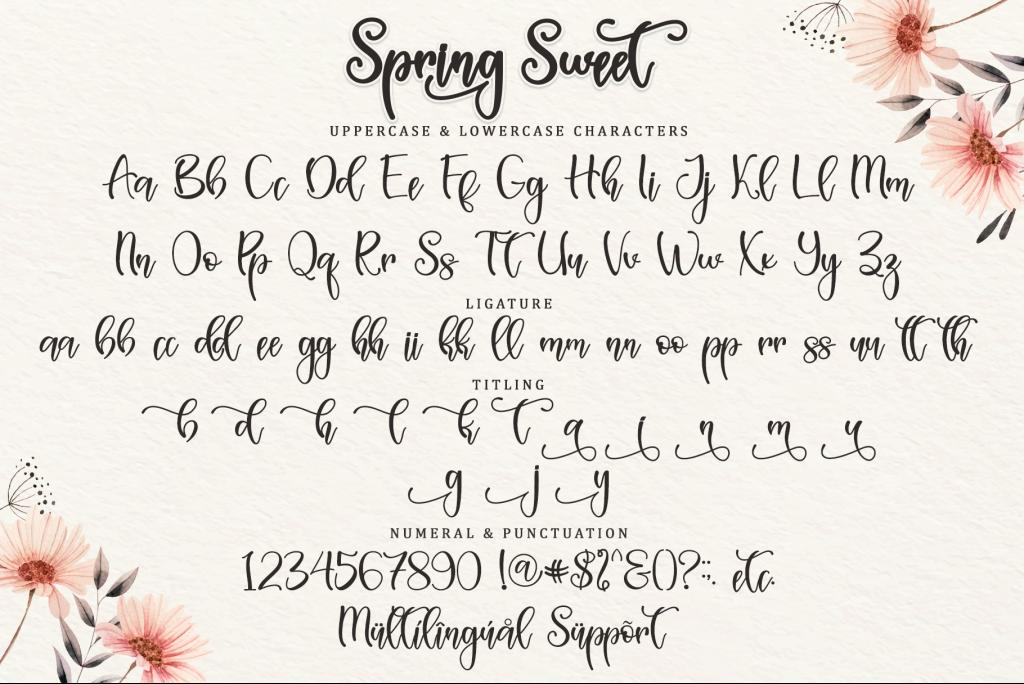 Spring Sweet - Personal Use illustration 8