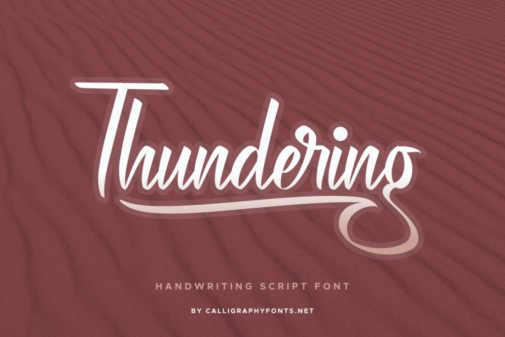 Thundering Demo illustration 3