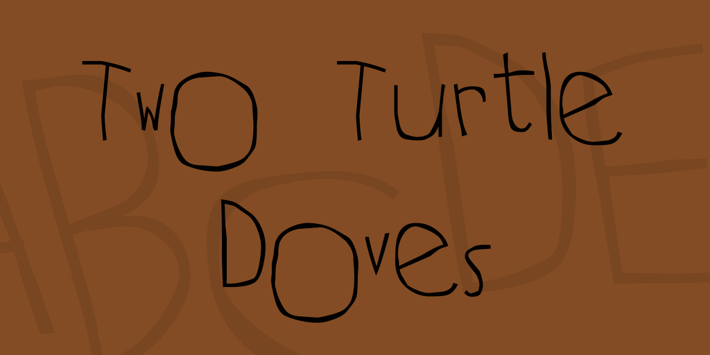 Two Turtle Doves illustration 1
