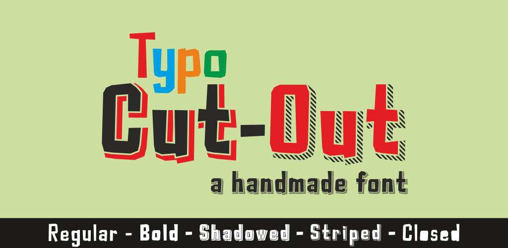 Typo Cut-Out Demo illustration 1