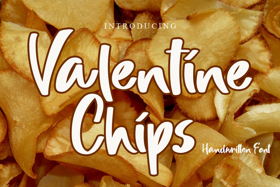 Valentine Chips illustration 2