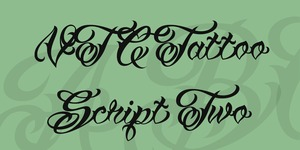 VTC Tattoo Script Two illustration 1