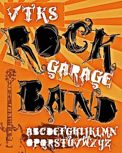 VTKS ROCK GARAGE BAND illustration 1