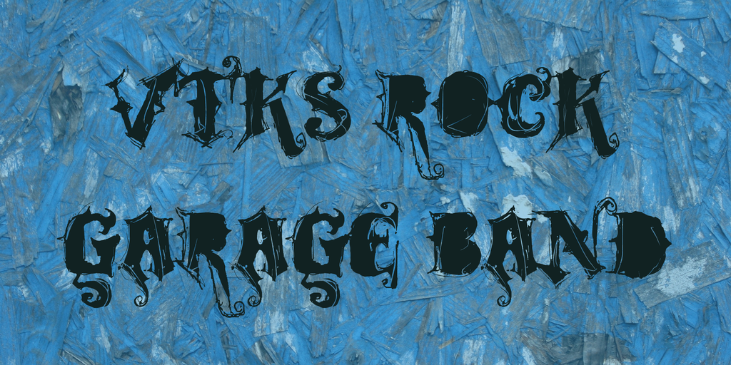 VTKS ROCK GARAGE BAND illustration 2