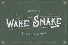 Wake Snake illustration 2