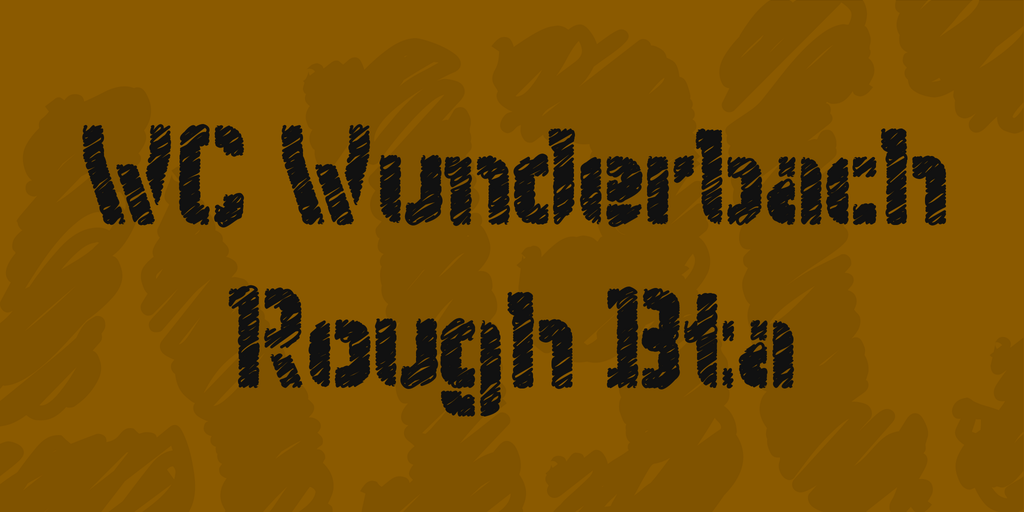 WC Wunderbach Rough Bta illustration 1