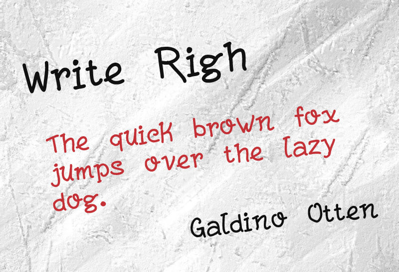 Write Righ illustration 1