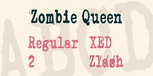 Zombie Queen illustration 16