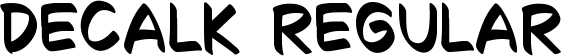 Decalk Regular